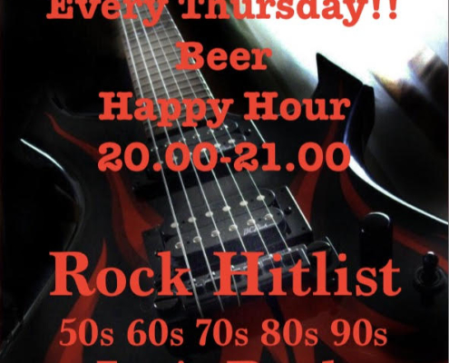 Happy Hour & Rock!