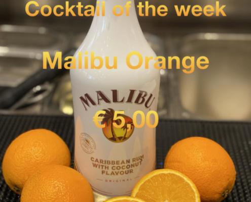 Cocktail of the Week Nr.1 Juni Malibu Orange