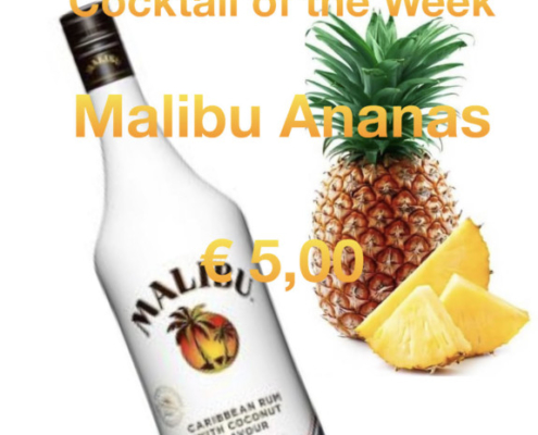 Cocktail Nr.2 Juli Malibu Ananas