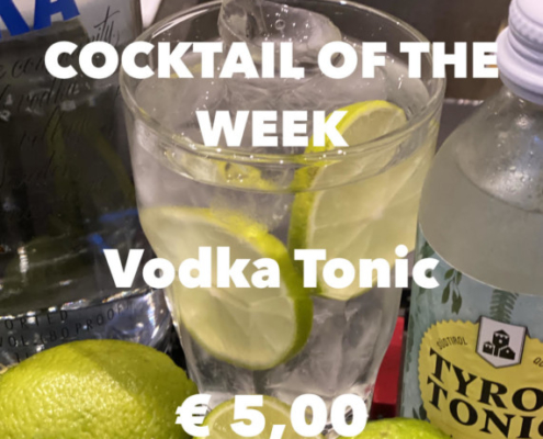 Cocktail of the Week Nr.3 Juli Vodka Tonic
