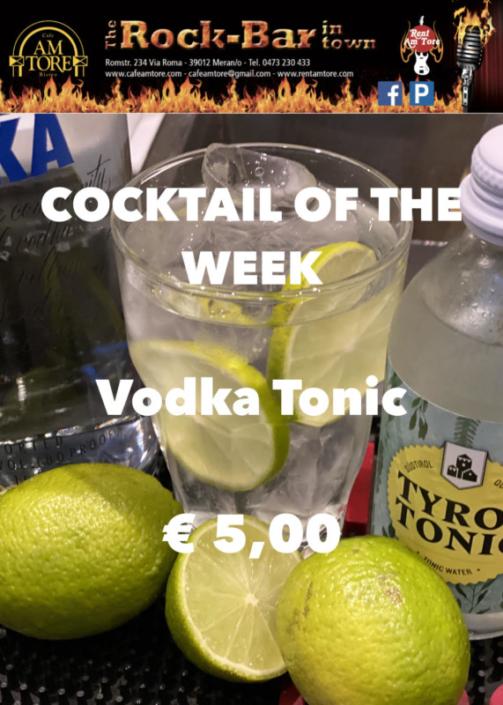 Cocktail of the Week Nr.3 Juli Vodka Tonic