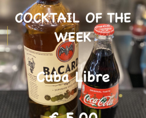 Cocktail of the Week Nr.3 August Cuba Libre