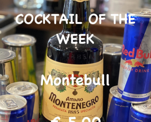 Cocktail of the Week Nr.2 September Montebull