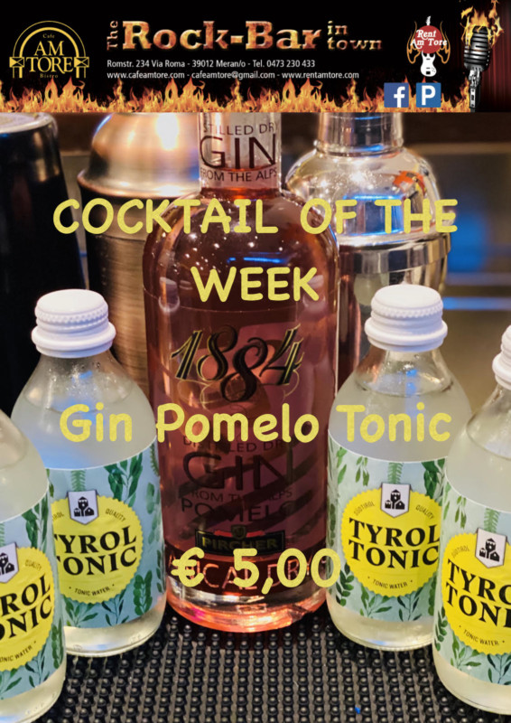 Cocktail of the Week Nr.2 September Gin Pomelo Tonic
