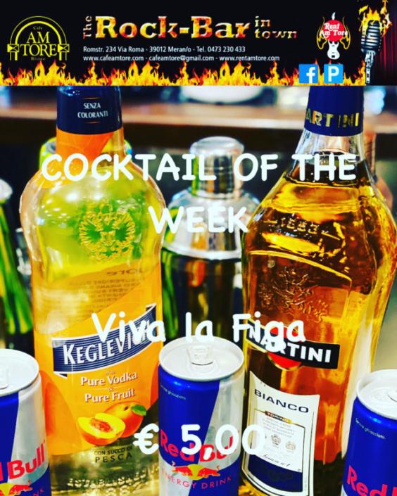 Cocktail of the Week Nr.3 September Viva la Figa
