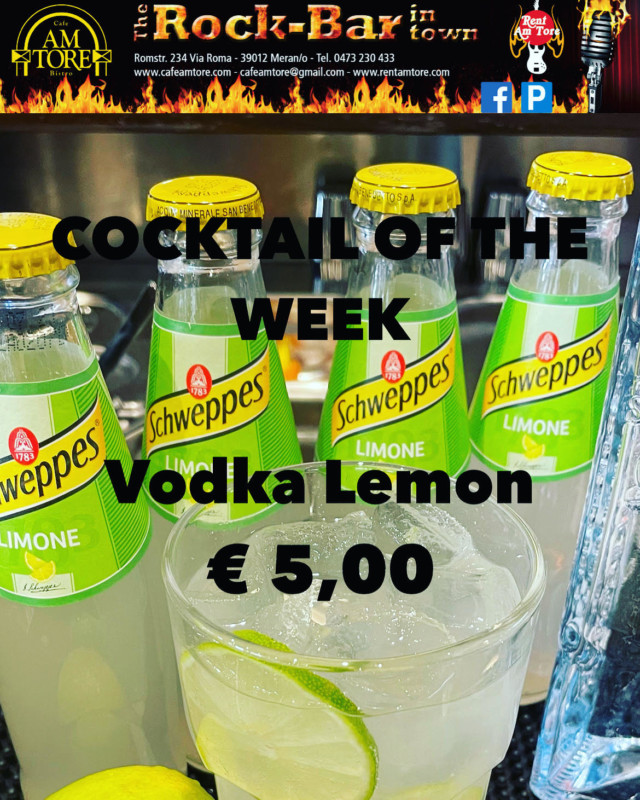 Cocktail of the Week Vodka Lemon Mai Nr.4