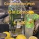 Cocktail of the Week Nr.1 Juni Gin Lemon