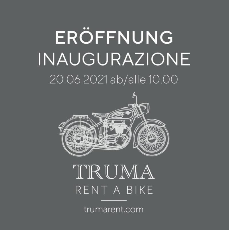 Truma Rent Einweihung-Inaugurazione + Motorradweihe