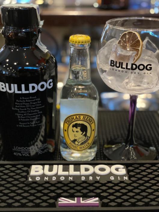Cocktail Nr.1 August Bulldog Gin Tonic