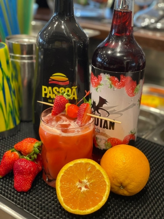 Cocktail of the week Juli Nr. 4 Exotic Passion