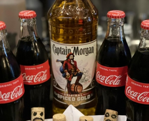 Cocktail of the Week nr.3 September Captain Morgan & Cola
