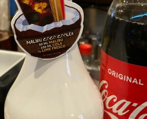 Cocktail of the Week Nr.2 Oktober Malibu Coco Cooler